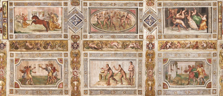 Castello Estense - Salone dei Giochi