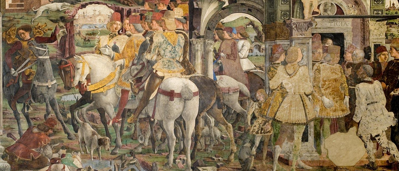 Schifanoia - dettaglio affreschi
